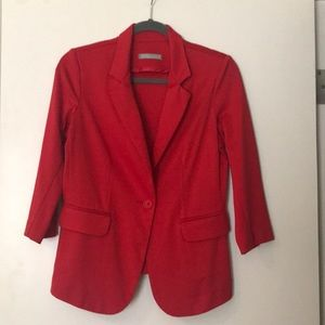 Nordstrom Olivia Moon red blazer size small